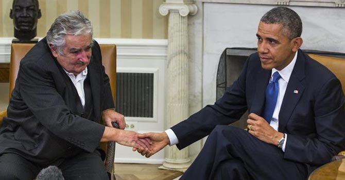 Obama y Mujica hablan sobre salud