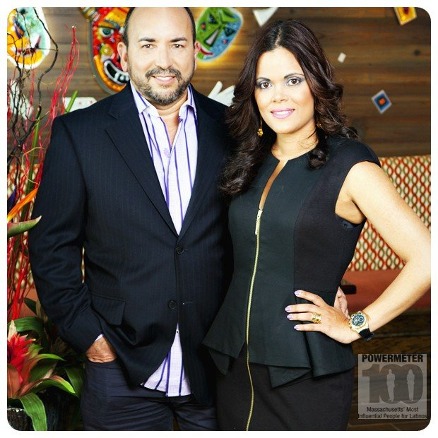 Piña, Hector y Nivia | Owners | Merengue & Vejigantes Restaurants