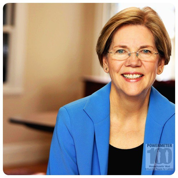 Elizabeth Warren, Senior United States Senator from Massachusetts.