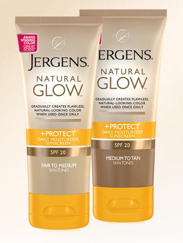 Natural Glow SPF 20 de Jergens