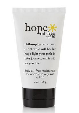 Hope in a Jar Crema hidratante SPF 30 de Philosophy