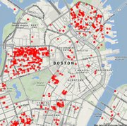 Ratas en Downtown Boston. Haz click para agrandar.