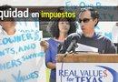 El profesor Daniel Sánchez se unió a la campaña Real Values for Texas y habló de las necesidades que enfrentan las escuelas públicas por falta de recursos.