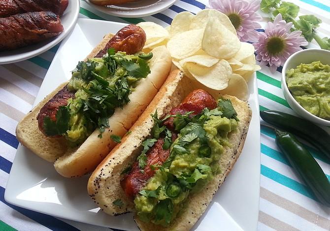 Hotdogs a la Mexicana