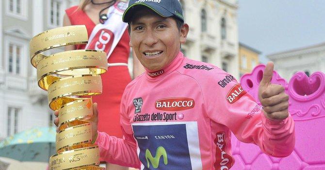 Hazaña colombiana en el Giro de Italia