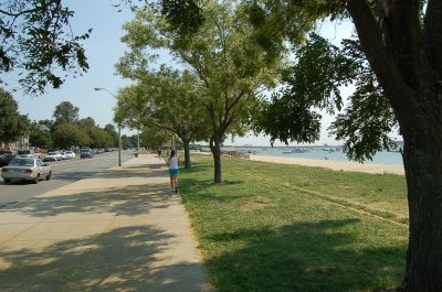 M & L Streets Beach and Boulevard