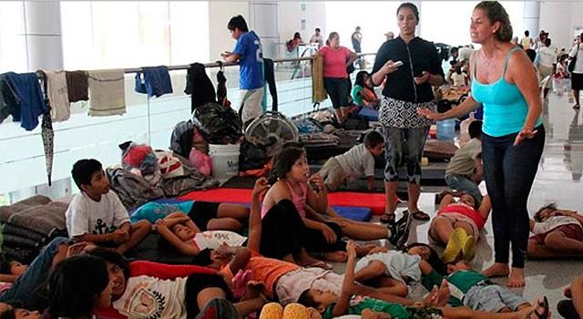 Los albergues para los niños indocumentados en Arizona están desbordados