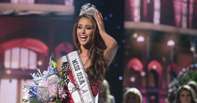 Nía Sánchez es coronada como Miss USA