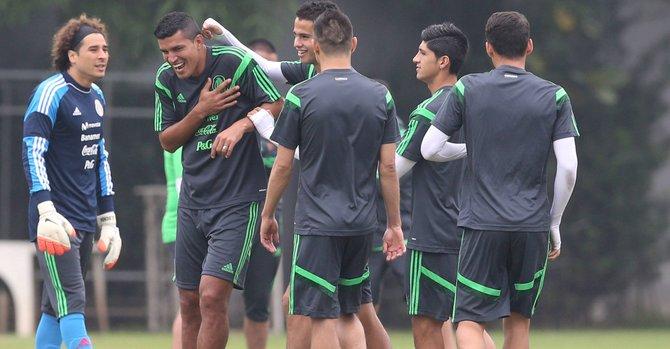 México afronta su mayor reto en Brasil