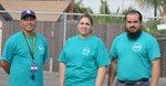 Armando Gallegos, Graciel Salmerón y Eduardo Flores, coincidieron en que su participación comunitaria ha ayudado al desempeño escolar de sus hijos.