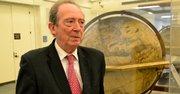 El director de la Real Academia Española, José Manuel Blecua, en la Biblioteca del Congreso, en Washington, DC.