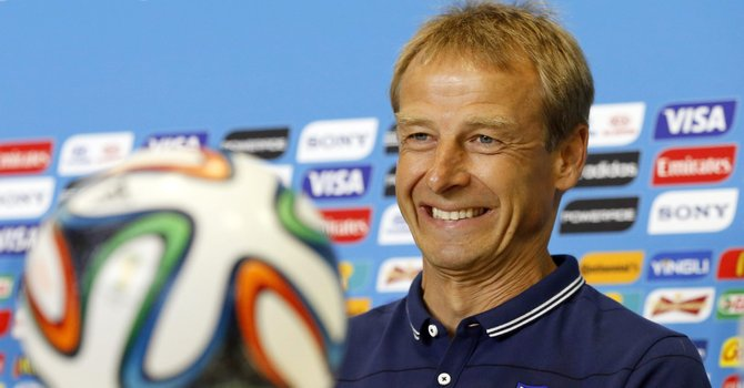 Klinsmann sets U.S. national team roster for Mexico friendly in San Antonio
