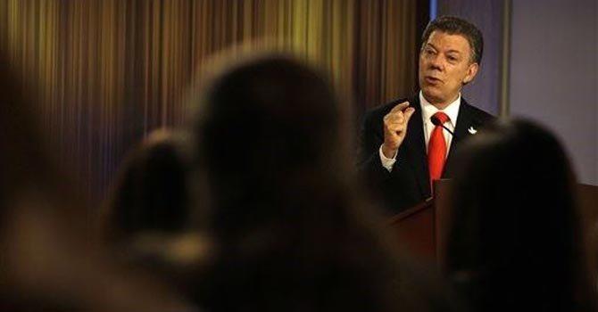 Santos promete que logrará la paz con las FARC