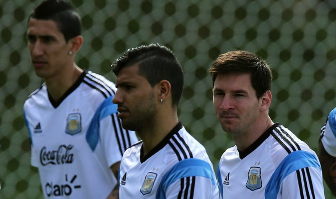 Argentina vs. El Salvador en FedEx Field