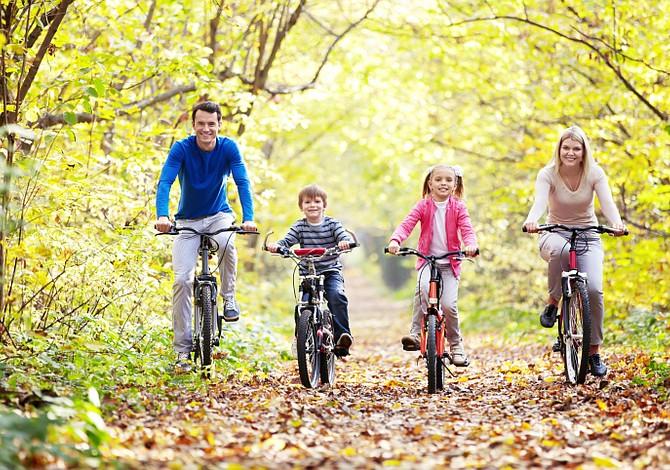 7 consejos para que tus hijos se ejerciten durante el otoño