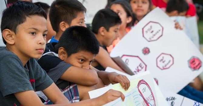 Retos para niños latinos en Langley Park