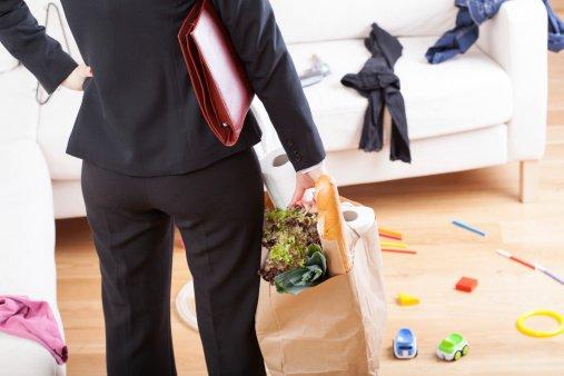 7 maneras para ahorrar tiempo para las mamás trabajadoras