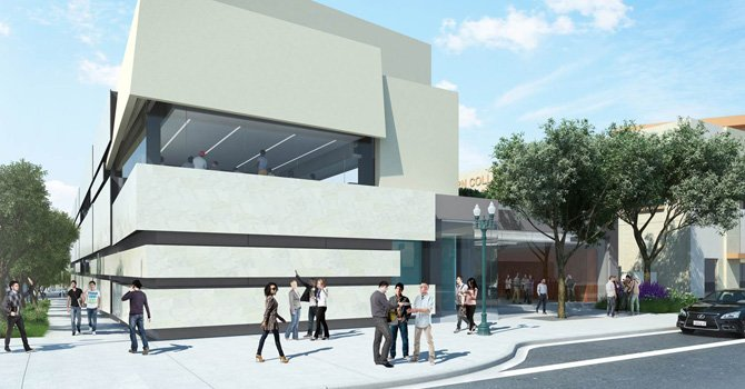 En el campus de National City, SWC construirá un nuevo edificio de dos pisos que tendrá nuevos salones de instrucción para el departamento de ciencia, oficinas y espacio público.  Foto: Cortesía