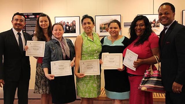 CAPACITACIÓN. Representantes de distintas organizaciones locales participaron en cursos de liderazgo.