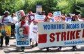 PRESIÓN. Trabajadores de edificios federales piden mejoras salariales. En DC aumentó el salario mínimo.