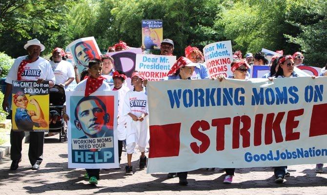 Incremento salarial en DC