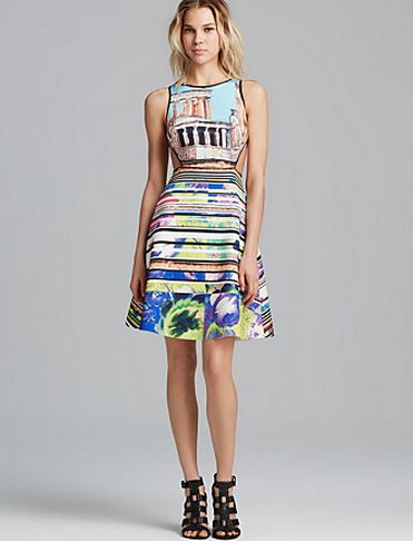 Clover Canyon Dress - Acropolis Garden Cutout