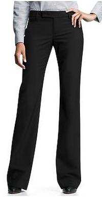 Modern boot pants