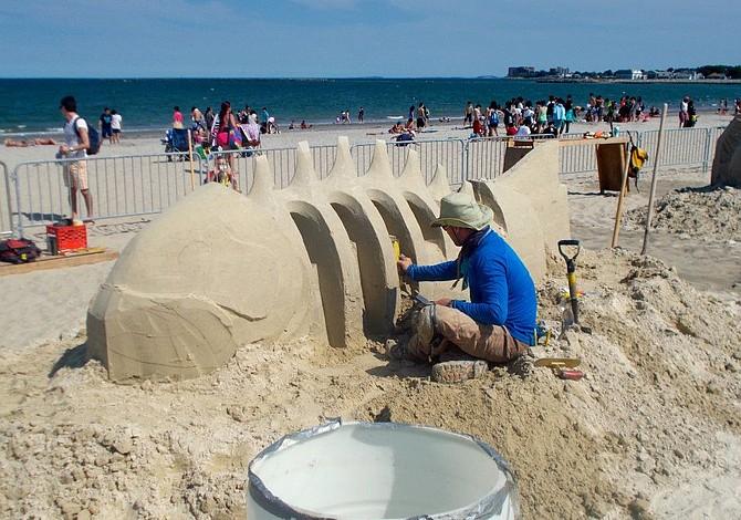 ESTE FIN DE SEMANA: Festival de Esculturas de Arena en Revere Beach