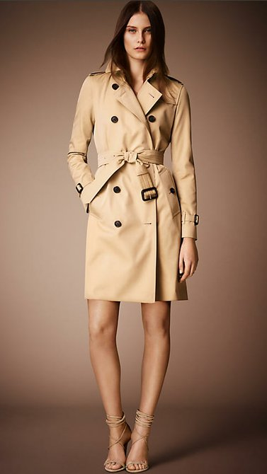 The Kensington Long Heritage Trench Coat
