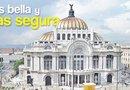 La Ciudad de México recibe más de 12,700,000 turistas al año y tiene mucho que mostrar en el aspecto cultural, histórico, gastronómico y de salud.