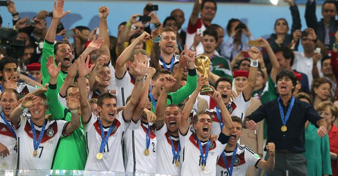 Mundial: más de 26 millones vieron la final en EE.UU.