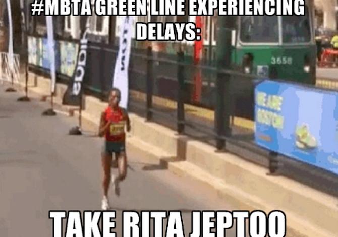 ¿Es más rápido correr o tomar la Línea Verde del T? Pronto lo van a probar