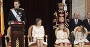DISCURSO. Felipe VI habla durante su proclamación como rey ante las Cortes españolas el 19 de junio.