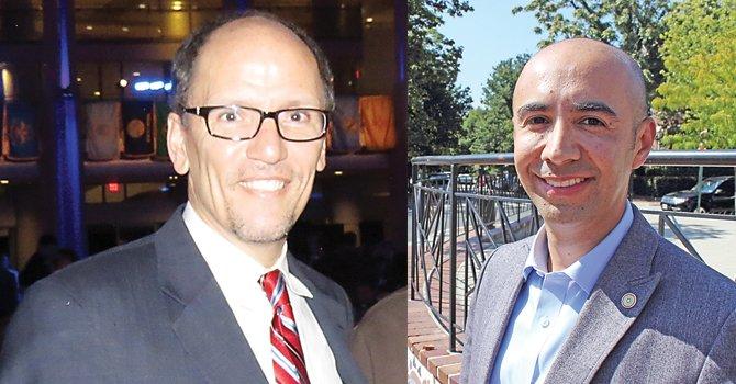 MD. Pérez, secretario de Trabajo. DC. Gustavo Velásquez es subsecretario del Departamento de Vivienda.