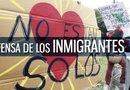 Las manifestaciones se llevaron a cabo durante varias horas frente a la sede del Consulado General de México en Houston.
