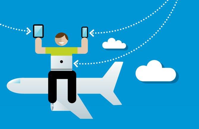Estabilidad y Velocidad: los que los viajeros quieren en su Wi-fi al volar