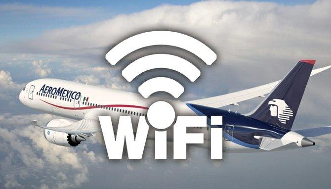 Aeroméxico la primera línea en Latinoamérica con Wifi en sus naves
