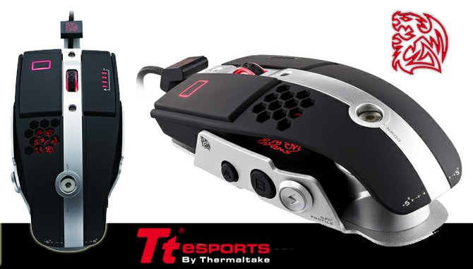 Mouse Level 10 de TTesports ¡Tu mouse de combate!