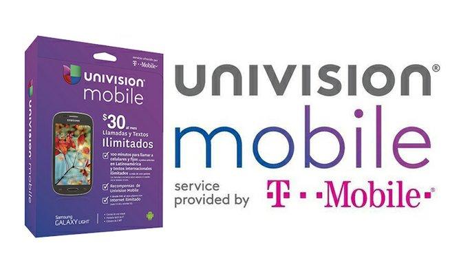 T-Mobile presenta servicio bajo la marca de Univision Mobile