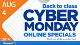 Walmart se adelanta con un Cyber Monday para el regreso a clases