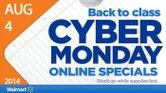 Walmart se adelanta con un Cyber Monday para el regreso a clases