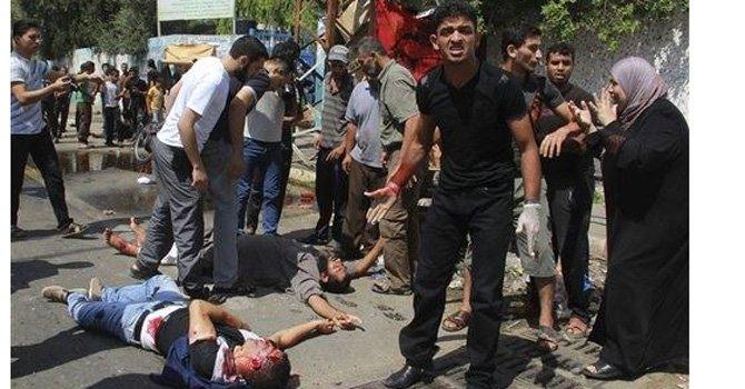 1.766 muertos y 9.500 heridos en Gaza