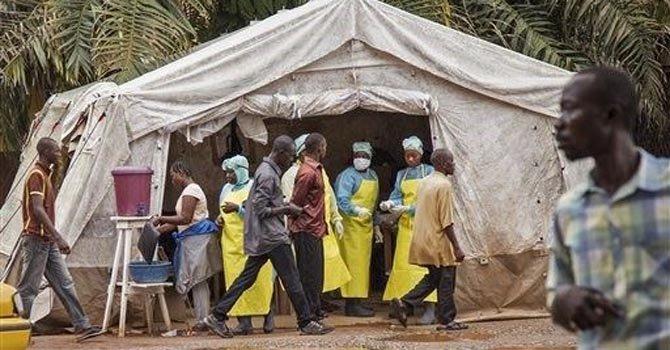 Resultado de imagen para ébola con el Departamento de Salud y Servicios Humanos
