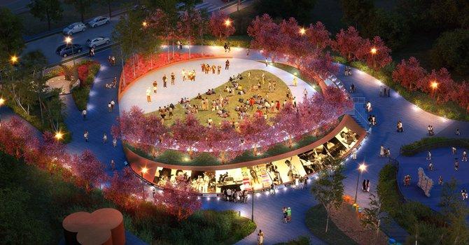 Latina diseñó parque en tributo a la leyenda musical Chuk Brown