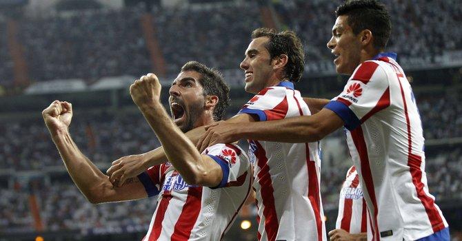 Atlético y Real Madrid empatan en la ida
