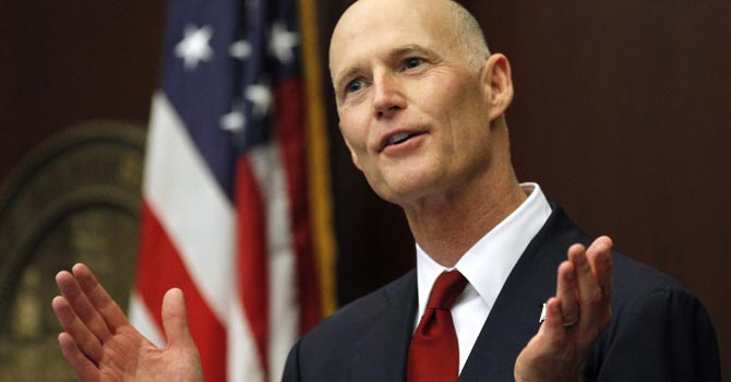 Rick Scott, Florida.