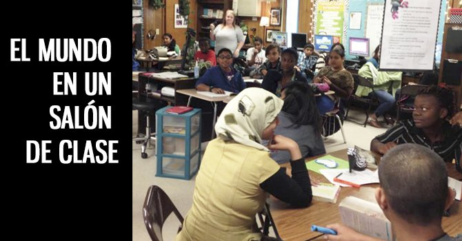 Las Américas, una escuela para niños migrantes y refugiados