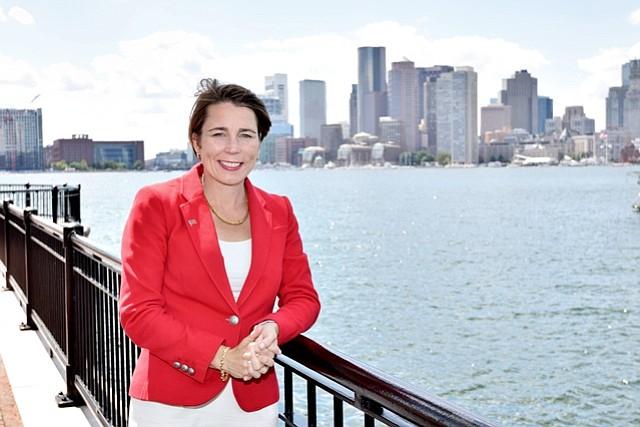 Maura Healey conversó sobre sus experiencias abogando por los residentes de Massachusetts