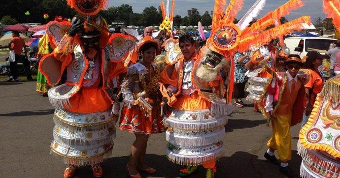 El Festival Boliviano llena Virginia de Cultura