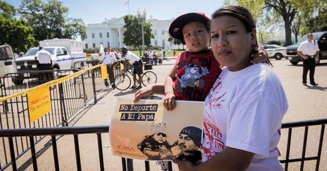 El dolor de una madre inmigrante